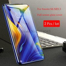 2Pcs/lot Tempered Glass For Xiaomi Mi MIX 3 Full Protective Film  9H Anti-blue Screen Protector MIX3
