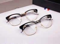 TB-016B male Ms. semi-circular frame myopia Eyeglasses frame retro fashion Glasses oculos lente transparente computer glasses