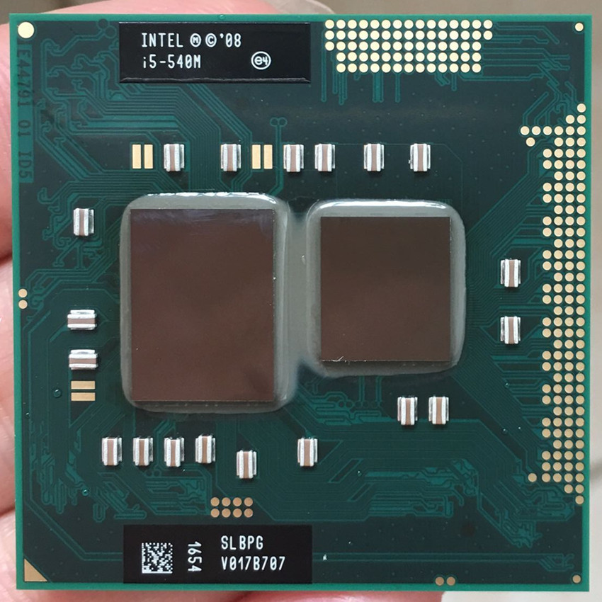 3MB Cache PGA988 2.5GT//s Intel Core i5-540M CPU // Processor SLBTV 2.5GHz