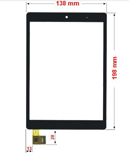 touch panel touch screen for carrefour Touch Tablet Neo2 CT820 8 Glass Sensor Free Shipping free shipping original rsag7 820 4555 roh power panel led32k01