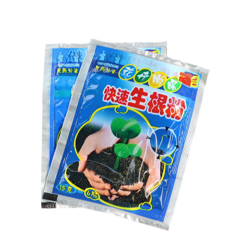 1 pcs fast rooting powder plant flower transplant fertilizer promotes rooting and rooting fast seedling agent Gao Chenghuo