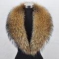 Free shipping Special offer big raccoon fur collar tops the raccoon skin scarf collar really raccoon fur collars shawl collar