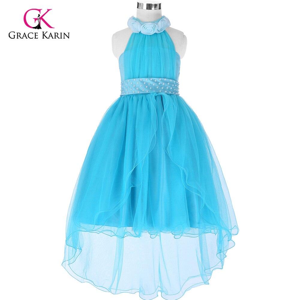 Popular White High Low Kid Girl Dress-Buy Cheap White High Low Kid ...