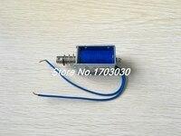 0.45A DC 24V Open Frame Push Type Solenoid Electromagnet