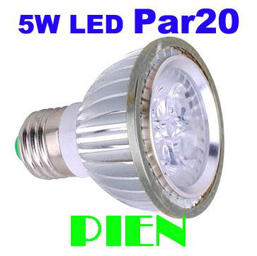 Par 20 Par20 LED bulb E27 6W 5W Spot lights for Industrial Work led lamp home decorating 110V 220V CE&ROHS by DHL 100pcs/lot