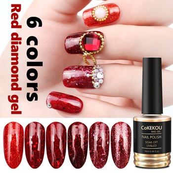 Cokekou Hybrid Semi Permanent 3d Weihnachten Braut Rote Diamant