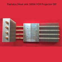 1 piece HD 1080p 1080*1920 LED projector/projection diy kit copper tubular radiator/heat sink 300W for home cinema diy