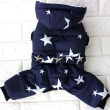 Все звезды зимняя теплая одежда для собак водонепроницаемая куртка для питомца Чихуахуа Одежда из Йоркшира для собак