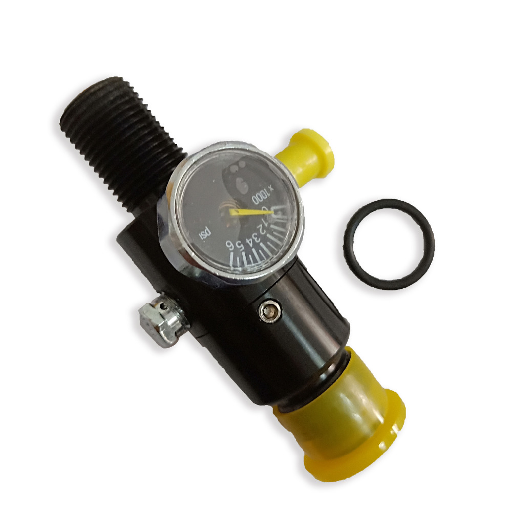 Acecare PCP Paintball Airsoft HPA Tank Regulator Valve M18*1.5 Thread  4500psi 1500psi/1800psi/2200psi Output PressureAcecare PCP Paintball Airsoft HPA Tank Regulator Valve M18*1.5 Thread  4500psi 1500psi/1800psi/2200psi Output Pressure