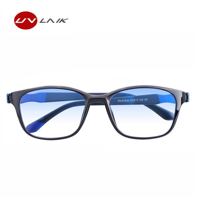 f0e43e7f7aa UVLAIK Men Reading Glasses Blue Green Double film Eyeglasses Anti rays  Presbyopia Eyewear with +1.5 +2.0 +2.5 +3.0 +3.5 +4.0-in Reading Glasses  from Apparel ...