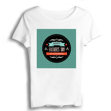 Gift Father Fathers Day T Shirt Women Sexy & Club Vintage t shirt T-shirts Modal Casual Jersey Appliques Short