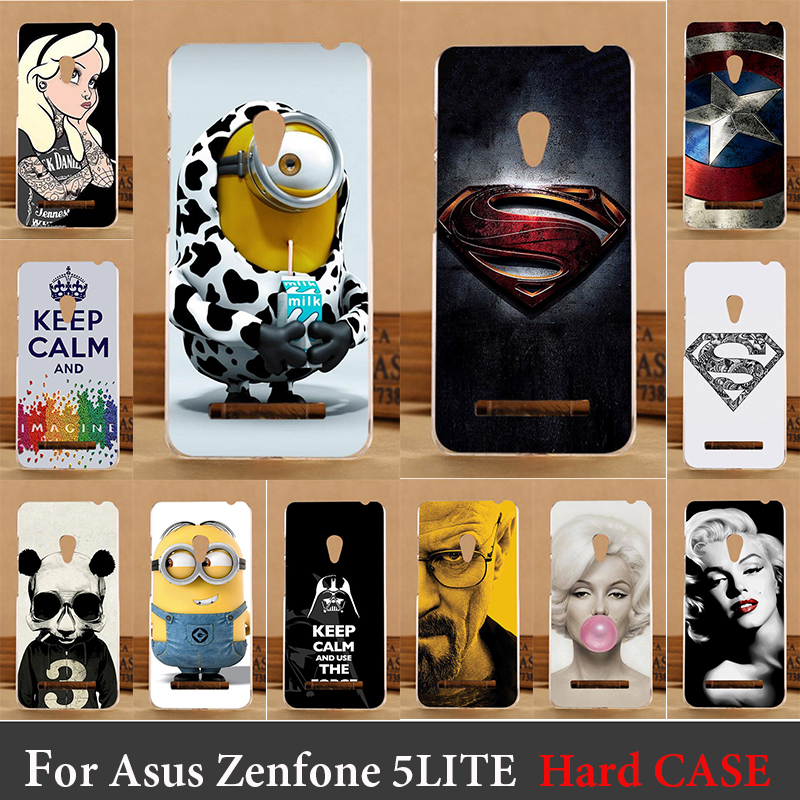 For Asus ZenFone 5 Lite A502CG 5.0 2014 Hard Plastic Cellphone Mask Case Protective Cover Housing  Mask For Asus ZenFone 5Lite