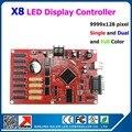 Простота в эксплуатации из светодиодов дисплей контроллера 9999 x 128 пикселей Kaler X8 из светодиодов контроллер для внутреннего открытый p5 p6 p8 p10 p16 р20 p4 из светодиодов панель