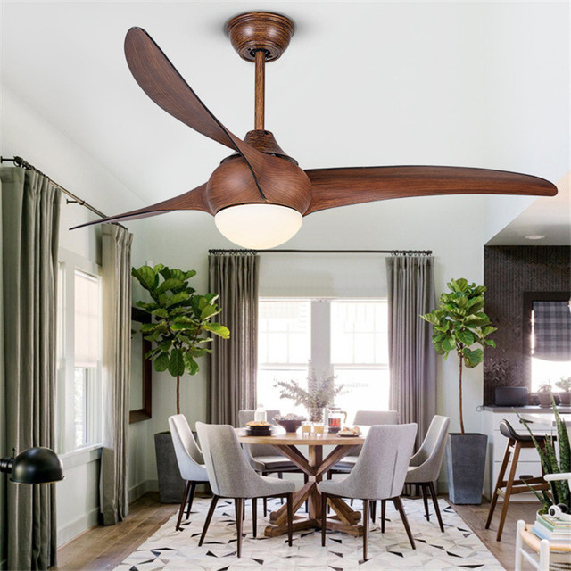 Aliexpress buy creative american restaurant ceiling fan lights creative american restaurant ceiling fan lights modern living room dinning room led fan lights inverter fan mozeypictures Images
