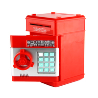 Do Dower Piggy Bank Toy Digital ATM Saving Money Safe Box Electronic Password Chewing Coin Cash
