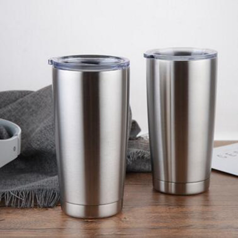 20oz Tumbler 304 Stainless Steel Vacuum Insulated White
