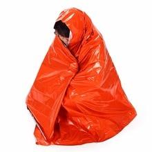 Аварийное спасательное термальное одеяло на открытом воздухе Ультра-тонкий зонт многоразовый портативный коврик для пикника