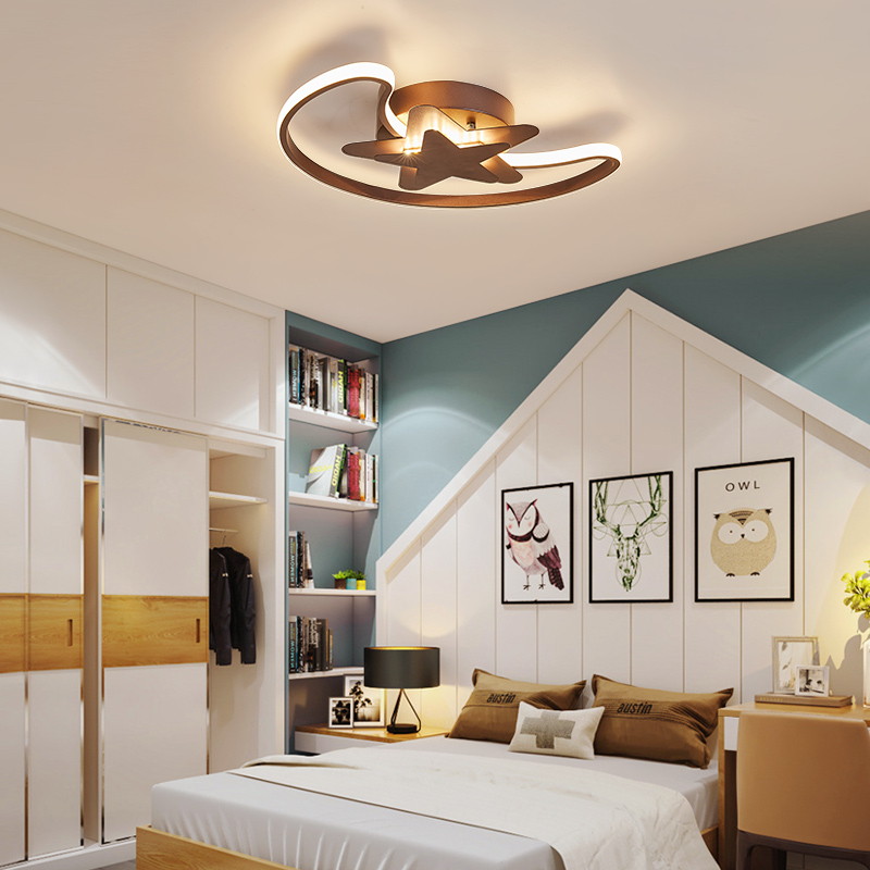 Triangle ultraviolet ceiling lights lamps for living room lustres of living room house december LED ceiling lamp