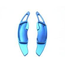 Volante Paddle Shift Shifter Para Toyota Subaru BRZ GT86/Legacy/Forester/Outback Liga de Alumínio 2 pcs acessórios interiores