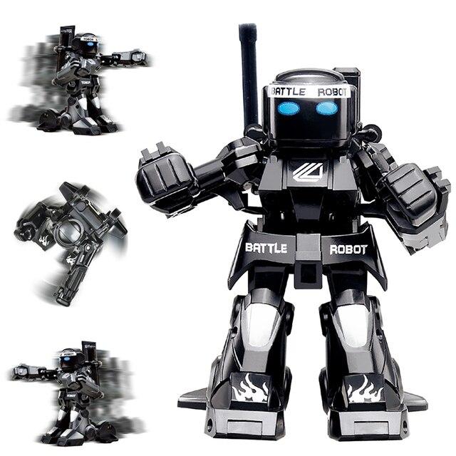 USB Gadgets Battle RC Robot Lichaam Gevoel Mini Size Afstandsbediening Figuur Speelgoed Met Boksen Geluid Kids Gift Toy Model 1