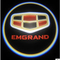 car door logo light car door courtesy light led laser lamp movie screen projection for Geely EMGRAND EC7 EC7-RV EC8 X7