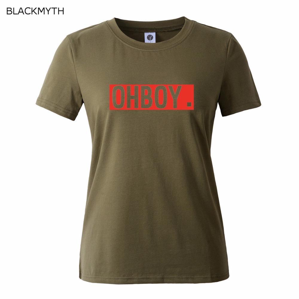 HTB1tVk QFXXXXXsXpXXq6xXFXXXs - OHBOY Printing T-shirt Tops Summer Woman Clothing