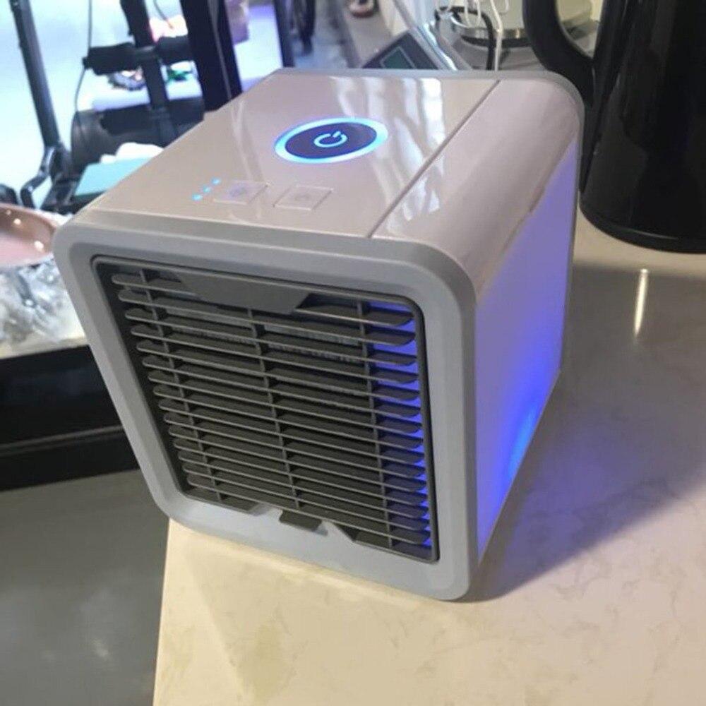 Tragbare Mini Klimaanlage Multifunktions Lüfter mit Led-leuchten Air Befeuchter-reinigungsapparat Luftkühler Sommer Hause