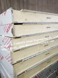 Классический холоднокомнатный строительный материал панель для холодной комнаты сэндвич PU панель для ходьбы в холодильных и холодильных к...