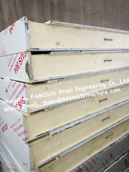 Classic Cold Room Building Material Cold Room Panel Sandwich PU Panel For Walk In Cold Storage And Cold Room Chambers 1150mm фото