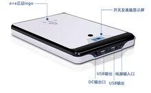 Adjustable 5V,9V,12V,16V,19V,20V(4.5AH) 33000MAH Lithium Li-polymer USB rechargeable Batteries for Laptop cellphone Power Bank