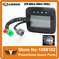 LINHAI ATV CUV 400cc 300cc 260cc 4WD or 2WD Changable Digital Speedometer Led Odometer Euro Standard Free Shipping