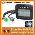 LINHAI QUADRICICLO 260cc 300cc 400cc 4WD CUV ou 2WD Mutável Digital Velocímetro Odômetro Levou Euro Padrão Frete Grátis