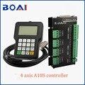 4 eixos controlador dsp sistema de controle a18s richauto marca cnc máquina ferramentas sistema controle peças cnc