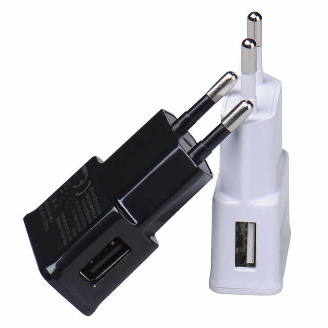 1 Pcs Uni Eropa Plug Adaptor Charger USB Dinding Charger Minum Mobile Phone Charger untuk iPhone Ponsel Android Tablet Travel Charger