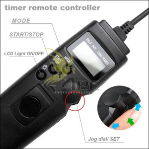 Image 2 - PROST Intervalomètre Minuterie Télécommande Filaire Déclencheur pour SONY A33 A55 A65 A77 A450 A500 A550 A560 A580 A700 A850 A900 Caméra