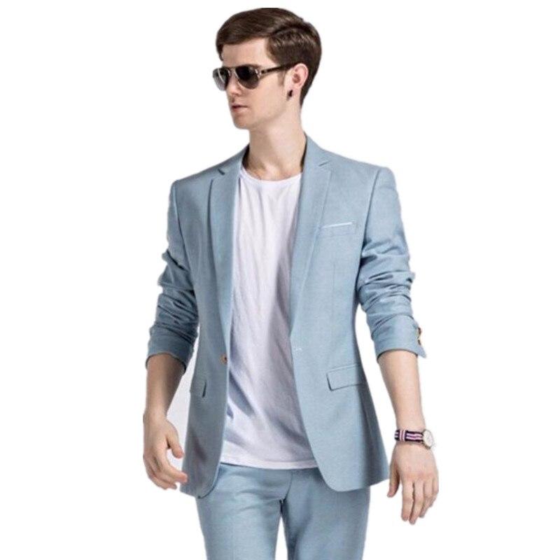 Popular Light Blue Dress Pants Men-Buy Cheap Light Blue Dress ...