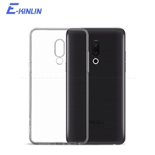 Clear Soft Cover For Meizu 16 X 16th 16S 16Xs 15 Lite X8 Pro