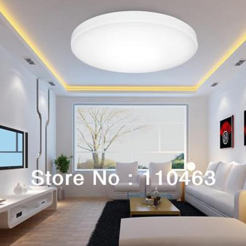 LED techo lámpara LED acrílico de sala de estar contemporánea luces ...