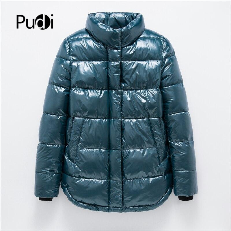 Pudi kobiety na co dzień kurtka nowa jesień wiosna zima klasyczne pani kurtki płaszcz płaszcze jasper plus rozmiar wodoodporny QY02 w Podstawowe kurtki od Odzież damska na  Grupa 1