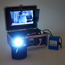Eyoyo Original 30M Fish Finder Full Silver HD 1000TVL Underwater Fishing Camera Video Recording DVR 7″ TFT Monitor White LED
