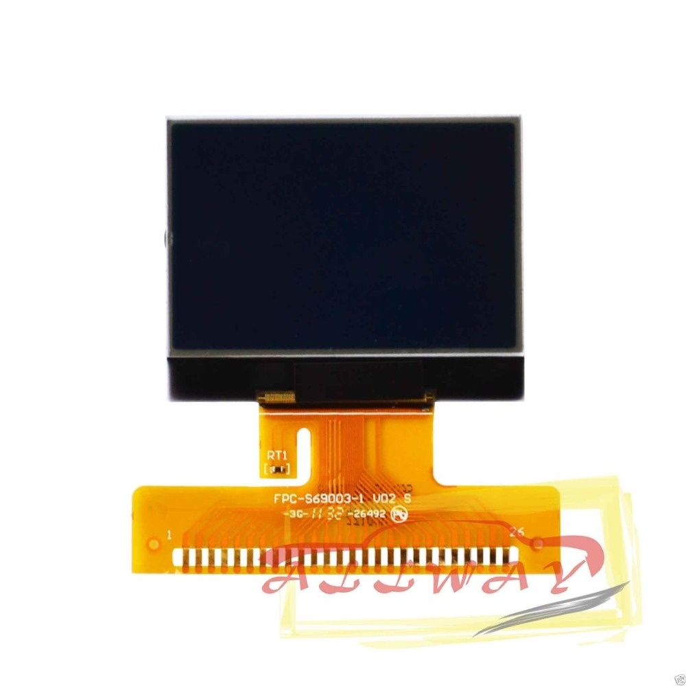 Replacement LCD Screen for Audi A3 A4 A6 VW Passat Jetta Glass Dashboard Cluster