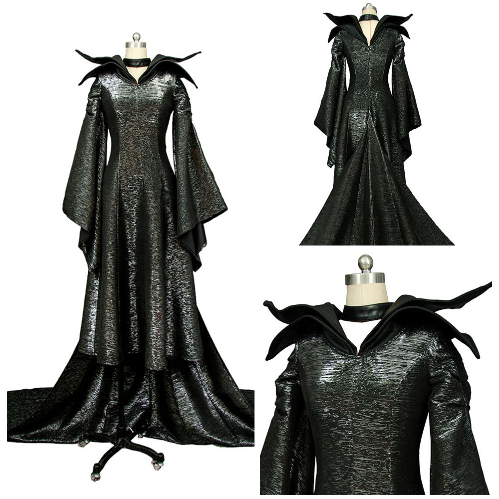 Us 85 99 Halloween Costumes For Adult Men Women Maleficent Dress Fancy Maleficent Costume Sexy Dress Maleficent Angelina Jolie Cosplay In Anime