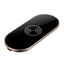 ABKM Hot Black Up3 Qi Three Coil Wireless Charger Base Wireless Charging Transmitter Coil For Iphone Samsung And Other Wireless