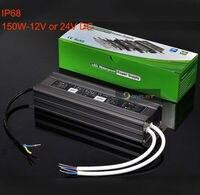 Waterproof 1pcs 150W +3pcs 200W LED Driver LED Power Supply Transformer LED Adapter AC110V to 12V