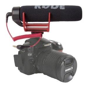 Image 2 - Orsda Ro de VideoMicro va sur caméra Microphone pour Canon Nikon Lumix Sony Smartphones gratuit Windsheild Muff/adaptateur câble
