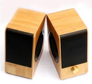 Habile fabrication filaire chine mini bambou bois fabricant haut-parleur