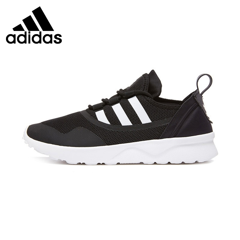 Original New Arrival 2017 Adidas Originals ZX FLUX Womens Skateboarding Shoes Sneakers ...