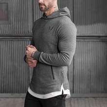 2016 New Arrival ASRV Men s Long Hoodies Hooded Pullovers Casual Sweatershirt Fitness Clothing Men Sweatshirt