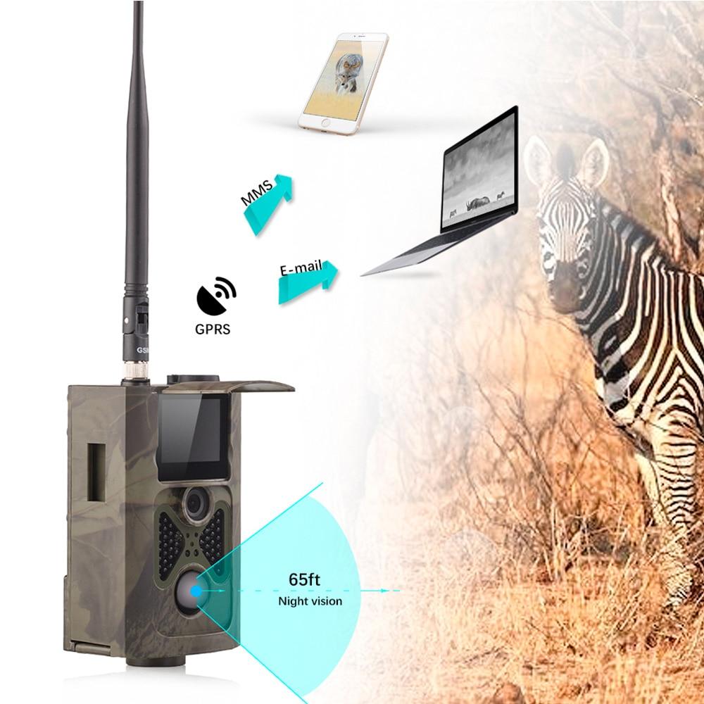 SMS Controlled Night Vision Wildlife Hunting Trail Camera HC-550G 16 ports 3g sms modem bulk sms sending 3g modem pool sim5360 new module bulk sms sending device