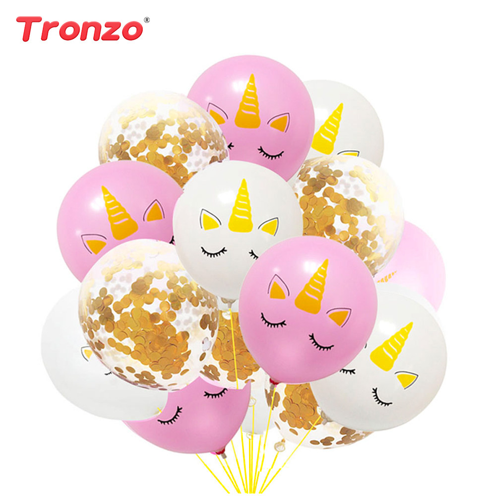 Online Shop Tronzo Unicorn Balloons Unicorn Party Decoration Animal ...